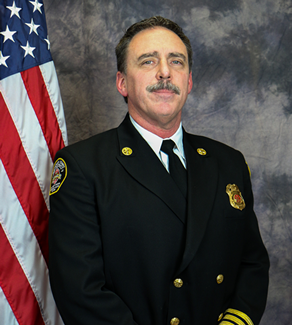 Assistant Chief Larry Huff