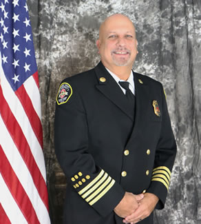 Deputy Chief Eric Andrews