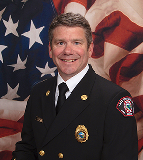 Fire Chief Kevin O'Brien