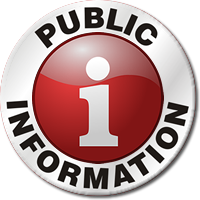 Public Information Icon